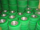 Peça ligada personalizada da borracha natural com metal, rolo do poliuretano, rolos de borracha de EPDM, rolo do elastómetro do poliuretano