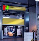 Porte haute vitesse Cadre en aluminium Matériau dur Obturateur à rouleau de porte rapide (Hz-FC057)