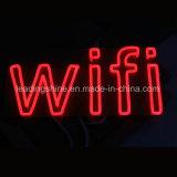 주문을 받아서 만들어진 WiFi 표시 바 호텔 훈장 LED 다채로운 네온 코드 빛