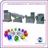 A linha de produção maquinaria dos doces dos confeitos morre dar forma à planta do Lollipop