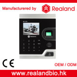 Control de acceso de la puerta del reconocimiento de la huella digital de M-F181 Realand