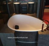 Solid Surface Hotel Custom Sized Free Stand Wash Basin