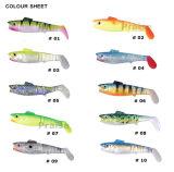 Fotorezeptor-Slb 60/80 passte künstlicher Köder-weichen Fisch-Fischen-Köder an