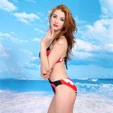 Swimwear Бикини нового цвета цветка прибытия 2016 сексуальный приставая костюм к берегу 2 Бикини части Swimwear комплектов