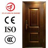 Diseño de acero barato exterior de la puerta de la seguridad del precio de las puertas de la importación