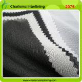 スーツのユニフォームのために行間に書き込むゆがみによって編まれるWeft挿入うたた寝のブラシをかけるファブリック