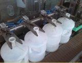 3-10 L chaîne de production complète du lavage remplissant et recouvrir de vis