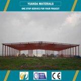 Almacén profesional de la estructura de acero del tubo del cuadrado de la fábrica