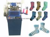 Automatische Socken-Strickmaschine für Ebene