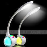 Lampada della Tabella del LED con l'indicatore luminoso del regolatore della luminosità di tocco e di colore di RGB (LTB020)