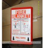 Coperta del fuoco utilizzata fuga di lotta antincendio