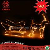 Свет мотива подарка и звезды рождества СИД большой для рождества