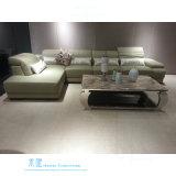 Modernes Art-Ausgangsc$l-form Ecken-Sofa mit PU-Leder (611S)