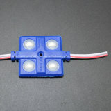 4SMD5630 el módulo 36*36 de la inyección del color rojo LED impermeabiliza el módulo del LED