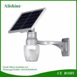 Lumière extérieure de mur de jardin de lune solaire élevée de quantité d'Alishine 9W 12W 18W