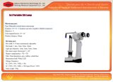 China Fabricante Digital Slit Lamp Microscope Medical Apparatus