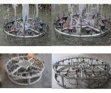 fuente de interior o al aire libre de la dimensión de una variable los 3m del 1.5m que echa en chorro del jardín redondo de la altura del baile de agua