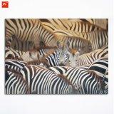 Табун земли зебр печати холстины обилия