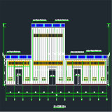 Здание стальной структуры раздела h стальное для мастерской, пакгауза, рынка ужина