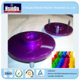 Capa azul púrpura roja del polvo del caramelo del nuevo producto de Chengdu Hsinda