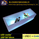 재충전용 LED 포도주 홀더를 바꾸는 바 가구 플라스틱 색깔
