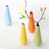 O casamento Ornaments o Jardiniere equipando dos ofícios dos frascos da flor da decoração geométrica da HOME do vaso da cerâmica da forma da gota