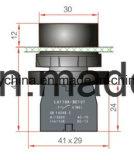Emergency Keilnute-Drucktastenschalter mit bohrenden 22mm