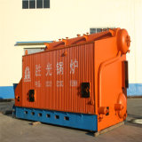 Caldaia a vapore Chain orizzontale della griglia del Doppio-Timpano industriale di Szl35-1.6MPa