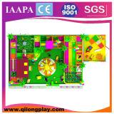 Campo de jogos interno dos miúdos grandes com área da criança (QL-17-33)