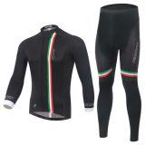 Camisa de ciclo determinada de las nuevas personas al por mayor de Sportwear, camisas de ciclo de ciclo del uniforme de Jersey de la bici