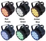 La IGUALDAD impermeable del profesional 24PCS DMX LED puede luz al aire libre