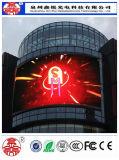 Afficheur LED P10 polychrome extérieur de la qualité HD de RVB pour la publicité