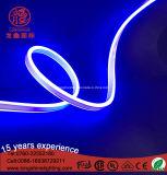 da opinião dobro azul da iluminação do diodo emissor de luz 220V mini corda flexível de néon para a decoração Home 100m/Roll de Buliding