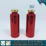 Het kleurrijke UV Gegalvaniseerde Flesje van het Glas met Filp van Deksel