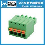 Соответствующий нажим -413 Wago 222 в разъеме терминальных блоков разъема провода