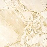 Telha de assoalho do material de construção, telha vitrificada da cópia do mármore da porcelana, telha cerâmica da porcelana para a decoração Home 60X60