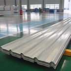 La tôle de l'acier Yx25-205-1025/a ridé la tôle d'acier ridée par feuille en acier de toiture