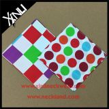 100%人のための絹プリントハンカチーフのカスタム小型の正方形