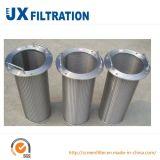 Cartouche filtrante de l'eau d'acier inoxydable de la qualité 316L