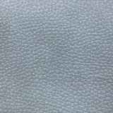 Cuoio impresso del PVC dell'unità di elaborazione del Faux del grano di Lychi per la mobilia della tappezzeria della borsa del pattino (serie T68)