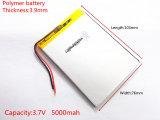 Batterij van het Lithium van het Polymeer van de hoge Capaciteit, 3976103, de Zon van 5000 mAh N70 de Batterij van de Tablet van 7 Duim