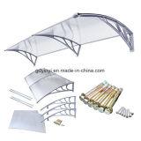 Luifel van de Deur van het Polycarbonaat DIY van Hotsale de Economische Openlucht Plastic (yy800-c)