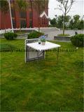 80cm Plastikquadrat-Klapptisch für Wochenenden-Picknick-Gebrauch