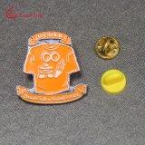 Подгонянный Pin отворотом значка металла трудного логоса эмали круглый