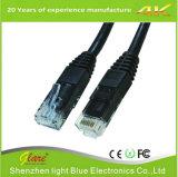 Кабель LAN кабеля шнура заплаты/Cat5e