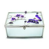 Оптовая продажа Hx-7250 2017 коробок ювелирных изделий изготовленный на заказ логоса дешевых стеклянных/коробки кольца/коробки ожерелья