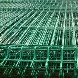 Pvc bedekte de Gelaste Omheining van de Draad voor Tuin met een laag