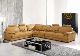 Sofá de couro de venda quente do lazer (H3016)