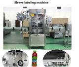 Máquina automática de etiquetado de etiquetas de PVC para botellas planas y redondas