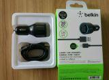 Lader van de Auto van de Haven USB van de Kabel van gegevens de Dubbele voor iPhone 7/7plus/6/5